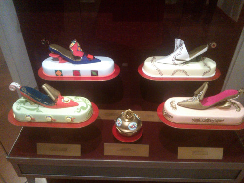 Shoes made out of chocolate